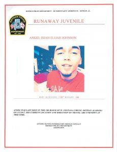 Runaway Juvenile – Dothan Police Department